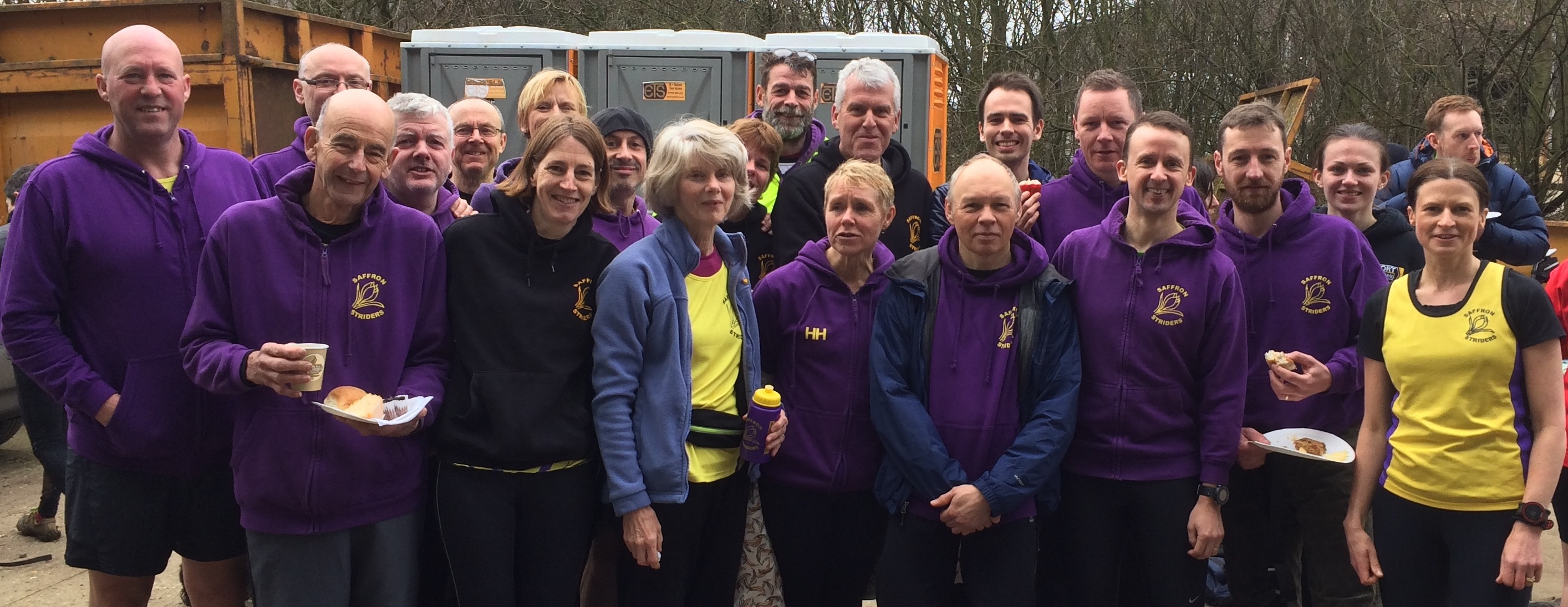 Striders at Hoddesdon xc Feb17